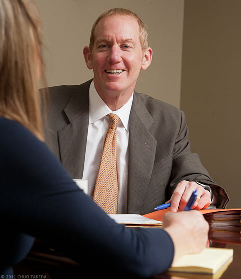 Oregon Injury Attorney and Client
